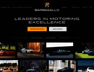 barbagallo.com.au screenshot