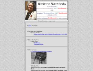 barbara.haczewska.pl screenshot