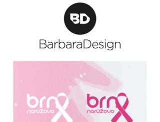 barbaradesign.cz screenshot