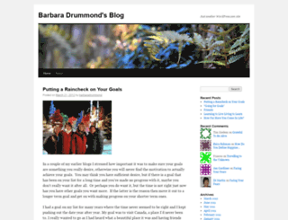 barbaradrummond.wordpress.com screenshot