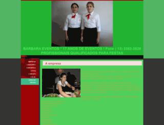 barbaraeventos.eev.com.br screenshot