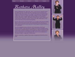 barbaramalley.com screenshot