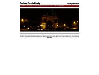 barbarapuccia.com screenshot