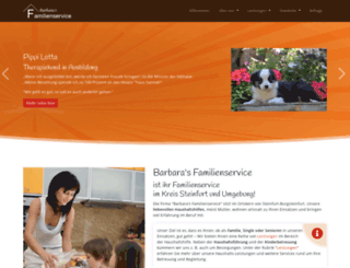 barbaras-familienservice.de screenshot
