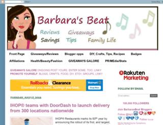 barbarasbeat.blogspot.com screenshot