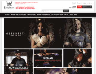 barbariansfightwear.com screenshot