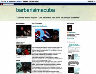 barbarisimacuba.blogspot.com screenshot