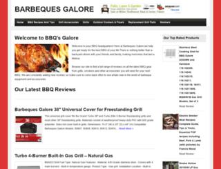barbequesgalore.org screenshot