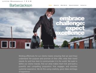 barberjackson.com screenshot