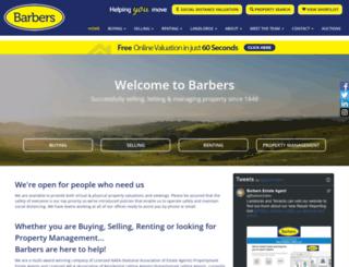 barbers-online.co.uk screenshot