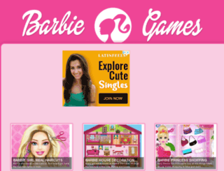 barbie-girl-games.com screenshot