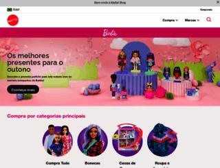 barbie.com.br screenshot