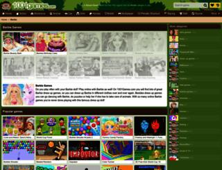 barbie.gamesxl.com screenshot