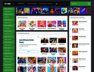 barbie.oyunu.net screenshot