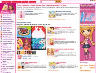 barbie365.com screenshot