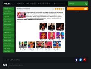 barbieevtemizleme.oyunu.net screenshot