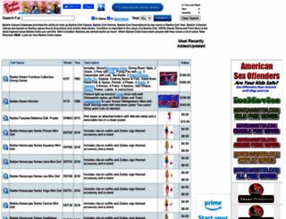 barbievalues.com screenshot