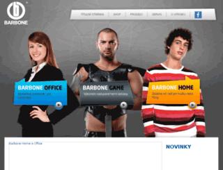 barbone.cz screenshot