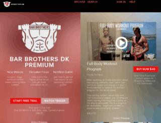 barbrothers.dk screenshot