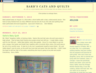 barbscatsandquilts.blogspot.com screenshot