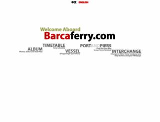 barcaferry.com screenshot