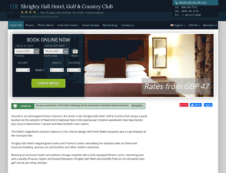 barcelo-shrigley-hall.hotel-rv.com screenshot