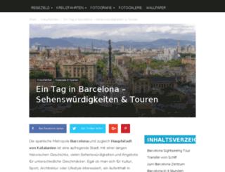 barcelona-bilder.de screenshot
