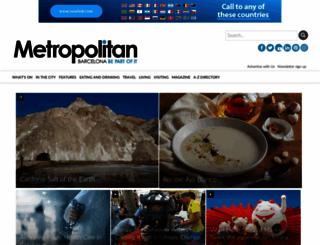 barcelona-metropolitan.com screenshot