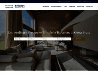 barcelona-sothebysrealty.com screenshot