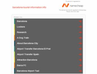 barcelona-tourist-information.info screenshot