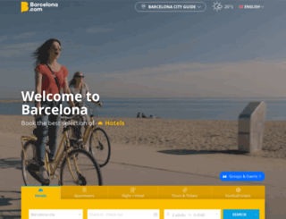 barcelona.org screenshot