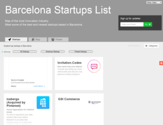 barcelona.startups-list.com screenshot