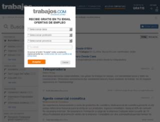 barcelona.trabajos.com screenshot