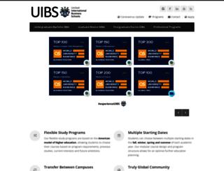 barcelona.uibs.org screenshot