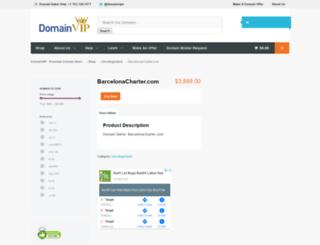 barcelonacharter.com screenshot