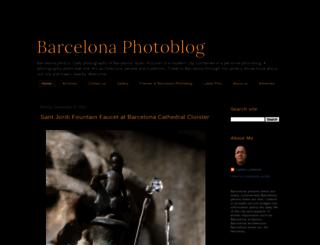 barcelonaphotoblog.com screenshot
