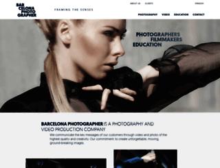 barcelonaphotographer.com screenshot