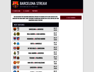 barcelonastream.com screenshot