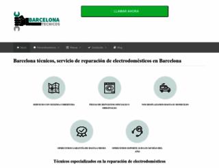 barcelonatecnicos.es screenshot