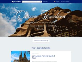 barcelonesite.barcelona.ticketbar.eu screenshot