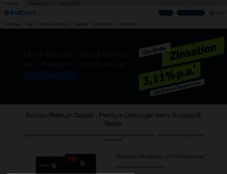 barclaycard.de screenshot
