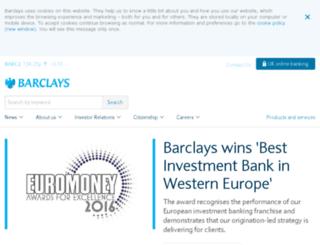 barclays.co screenshot