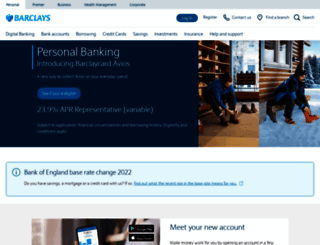 barclays.co.uk screenshot