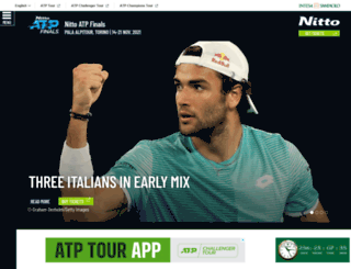 barclaysatpworldtourfinals.com screenshot