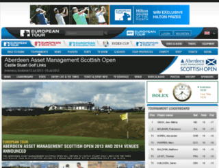 barclaysscottishopen.co.uk screenshot