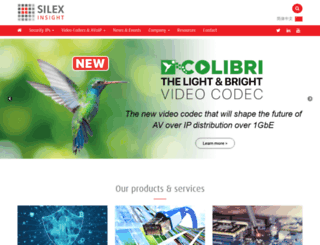 barco-silex.com screenshot