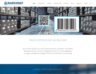 barcodat.de screenshot