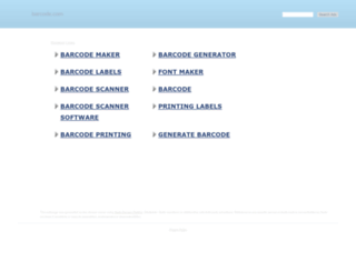 barcode.com screenshot