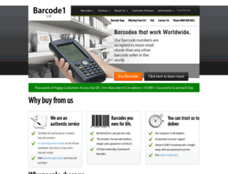 barcode1.co.uk screenshot