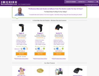 barcodereaders.com screenshot